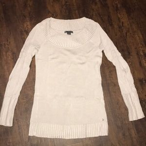 A/X oyster Gray spring lightweight sweater